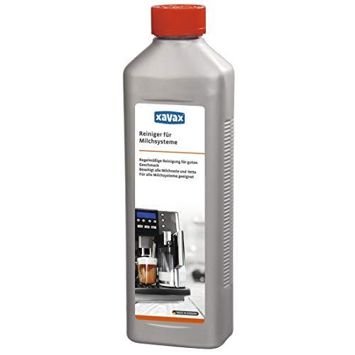 Xavax Reinigungs-Konzentrat für Milchschaumbrühvorrichtung, Lebensmittelecht, 500 ml bis zu 25 Anwendungen