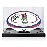 Exclusive Memorabilia Jonny Wilkinson Ballon de Rugby signé England dans Un écrin
