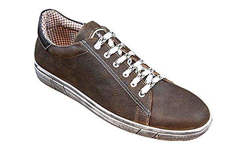 MADDOX Herren Trachten Sneaker Siegfried Wood Nappato Gr.46