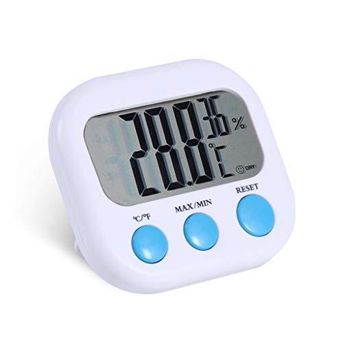 CHenXy Mini Thermo-Hygrometer, Haushalt Precision Hygrometer, Kühlschrank, Apotheke Thermometer, Tisch und hängend Hygrometer Thermometer (Color : A)