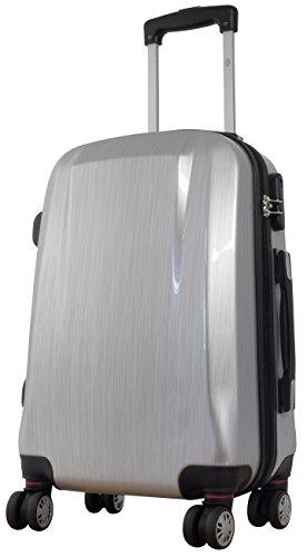 Polycarbonat Koffer Wellington Gr. L 64cm, 59Liter, 4 (Silber)