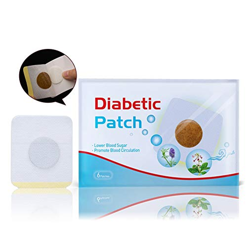 ColorfulLaVie 6Pcs Diabetes Pflaster Halten den Blutzuckerhaushalt rein Natürlich Kräuter - Behandeln Lokalisierte Diabetiker (6 pcs)