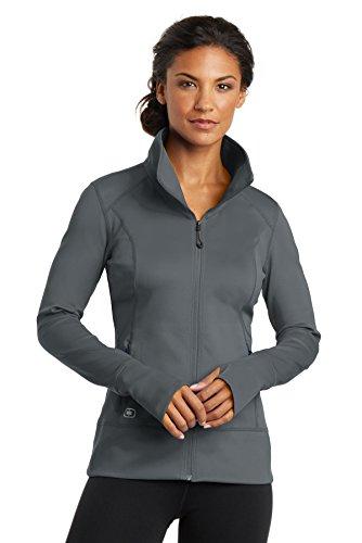OGIO ENDURANCE - Ladies Fulcrum Full-Zip, Gear Grey, Medium