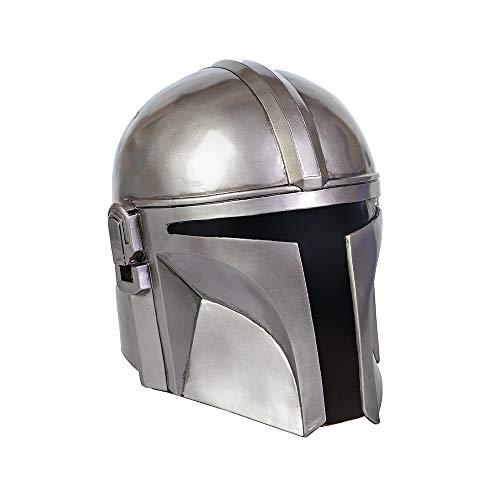 SW Maske-Mandalorianische Maske Gürtel Zorri Bliss Maske Boba Fett Maske für Erwachsene Herren Kollektion - Silber - Einheitsgröße