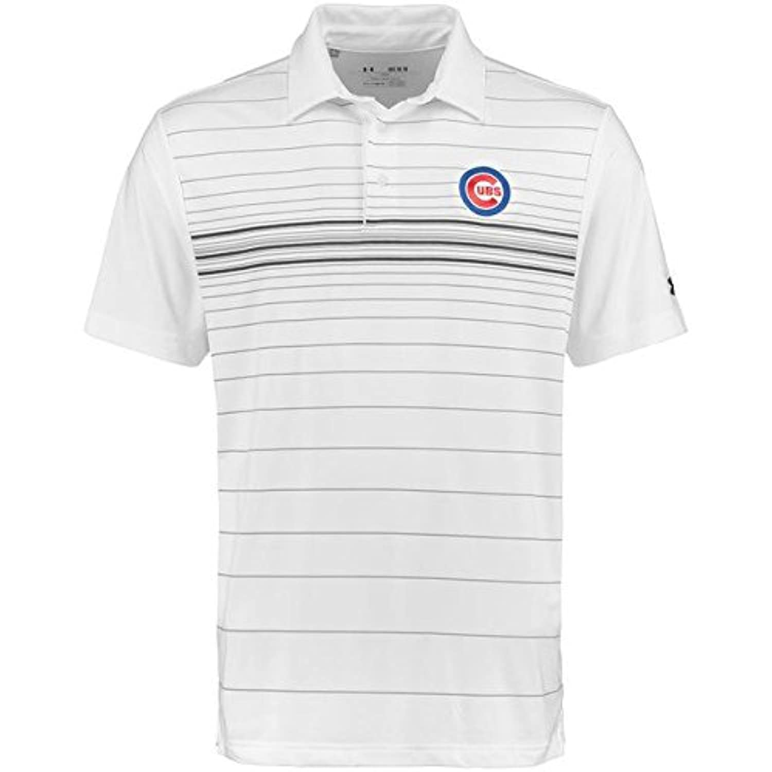 Under Armour Under Armour Chicago Cubs White Maltby Printed Performance Polo スポーツ用品 【並行輸入品】
