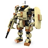 MyBuild Mecha Frame Ranger 5010 Sci-Fi Series Robot Bricks Construction Blocks Toy Figure 5 Inches Build Size