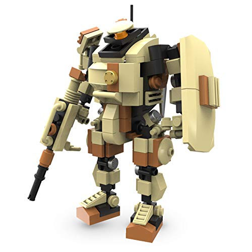 MyBuild Mecha Frame Sci-Fi Series Ranger 5010 Robot Bricks Construction Blocks Toy Figure 5 Inches Build Size