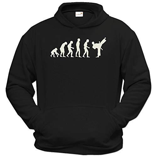 getshirts - Best of - Hoodie - Fun - Evolution Karate - schwarz S