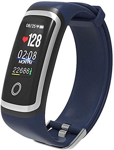 YSSJT Reloj inteligente con pulsera de actividad física con frecuencia cardíaca y presión arterial, monitoreo del sueño, Bluetooth compatible con iOS y Android