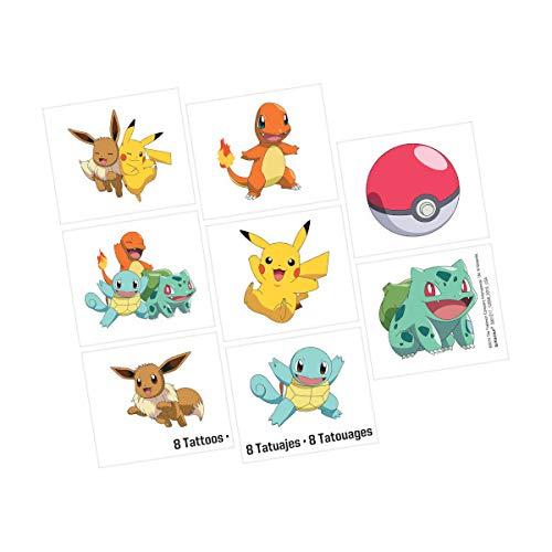 Pokémon Temporary Tattoos