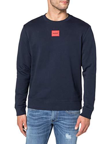 HUGO Herren Diragol212 Pullover, Dark Blue405, L