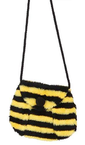 narrenkiste O41161 gelb-schwarz Bienentasche Bienen Umhängetasche Tasche