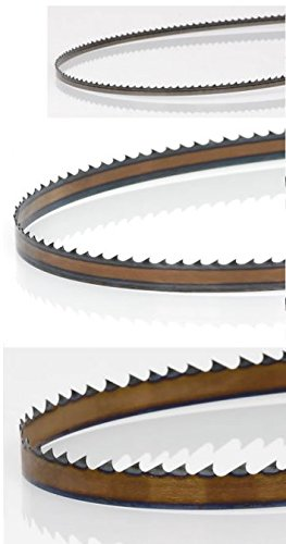 Timber Wolf 93.5' Three-Blade Curve/Ripping/Resawing Silicon Steel Bandsaw Blade Set