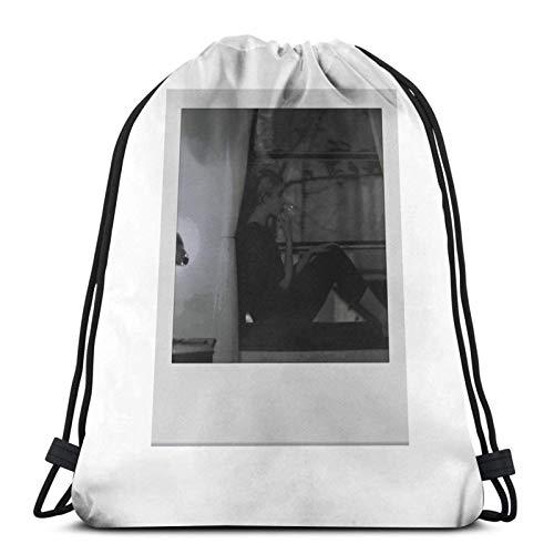 LREFON Franc & Atildes Ha Polaroid Sport Sackpack Kordelzug Rucksack Gym Bag Sack
