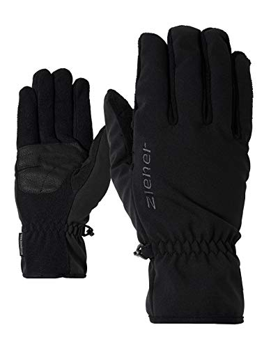 Ziener Kinder LIMPORT JUNIOR glove multisport Funktions- / Outdoor-handschuhe   winddicht, atmungsaktiv, schwarz (black), 5