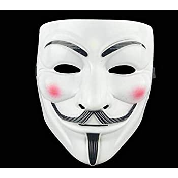 V for Vendetta Guy Mask Halloween Costume Cosplay Party Mask