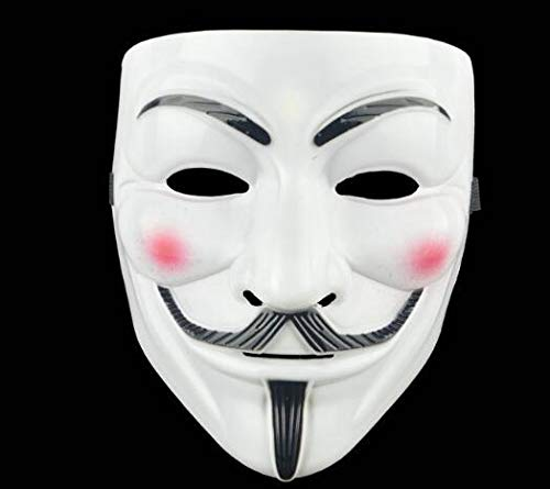 Blevla V for Vendetta Guy Mask Halloween Costume Cosplay Party Mask