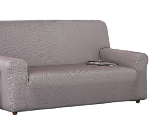 Estoralis Sari Funda de sofá elástica, Tela, Rojo, 2 Plazas