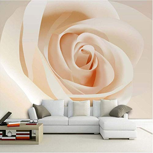 Fotomurales papel de pared 3d Rosa no tejido moderna Fotográfico Diseno TV Fondo grandes salones Hogar decorativos -350X250 cm (137 * 98 pulgadas)