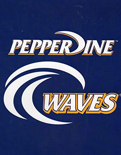 Northwest Pepperdine Wave Throw Royal Plush Raschel Blanket 50' x 60'