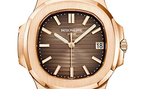 Patek Philippe Nautilus Rose Gold 5711-1R-001 with Light/Dark Brown Gradated dial