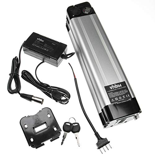 vhbw Batería de Tubo de sillín 13.2Ah 24V Li-Ion Incl. Cargador Compatible...