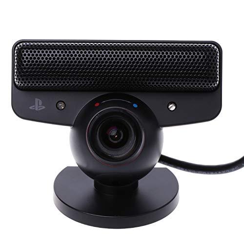 ZUHANGMENG Telecamera per Sensore di Movimento Oculare Webcam con Microfono Microfono Incorporato con Eliminazione del Rumore per Sistema di Gioco Sony Playstation 3 Ps3