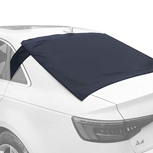 Rear Windscreen Snow Cover, Anti Foil Ice Dust Sun Windshield Frost Covers & Sun Shade Protector for Vehicle Rear Windshield (Rear Windshield Car Cover)