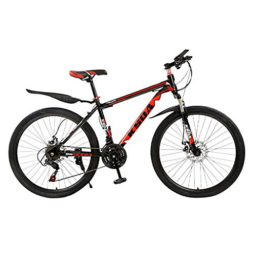 Outroad Mountainbike, 26 Zoll Mountainbike mit 21-Gang-Doppelscheibenbremsen Herren-Fahrrad Jugend Kinder Fahrrad Kids Mountainbike MTB Fahrrad