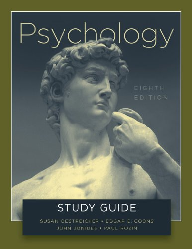 Study Guide: for Psychology, Eighth Edition