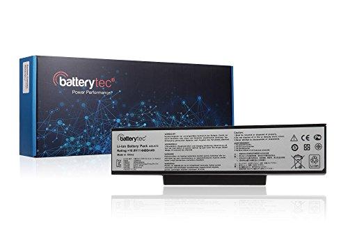 Batterytec® ASUS Batterie d'ordinateur portable A32-K72 A32-N71 A72 A73 N73 K72 N71 X73 X77 N73J N73JF N73JG N73JN N73JQ,70-NX01B1000Z, 70-NXH1B1000Z, 70-NZY1B1000Z, 0-NZYB1000Z. [10.8V 4400mAh 1 an de garantie]