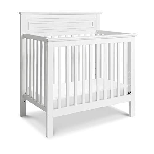 DaVinci Autumn 4-in-1 Convertible Mini Crib in White, Greenguard Gold Certified