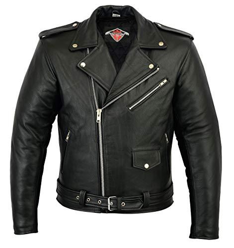 162cm cuir Texpeed Gilet de moto sans manches 10XL tailles S /à 10XL homme
