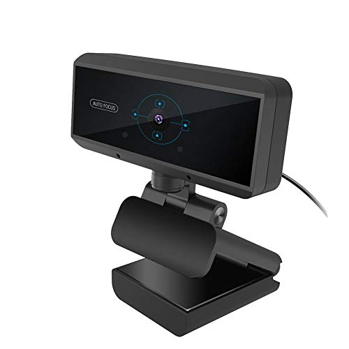1080P HD PC-webcam met microfoon, 360 graden instelbaar Ingebouwde MIC USB-computer Camera Streaming Webcam voor videogesprekken, Computer Web Camera Video Cam voor streaming Gaming Conferencing