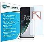 Slabo Premium Pellicola Protettiva in Vetro Temperato per OnePlus Nord (5G) Tempered Glass Crystal...