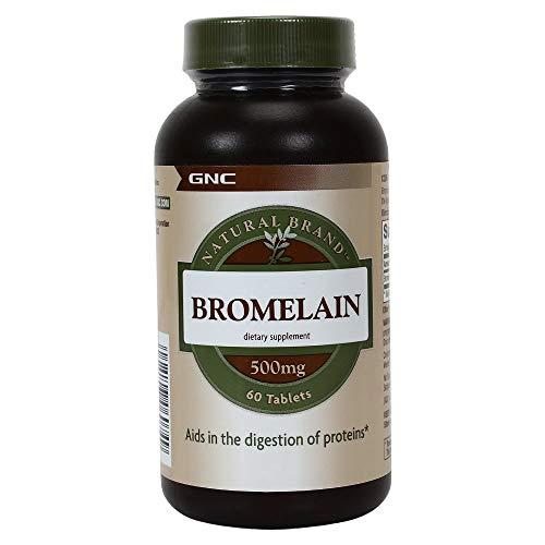 GNC Natural Brand Bromelain 500mg,60 servings