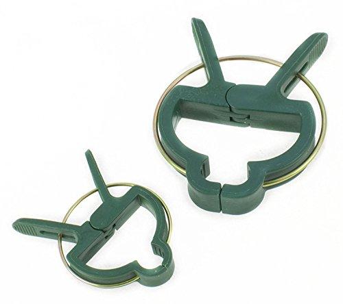 Toolzone Lot de 20 clips pour plantes