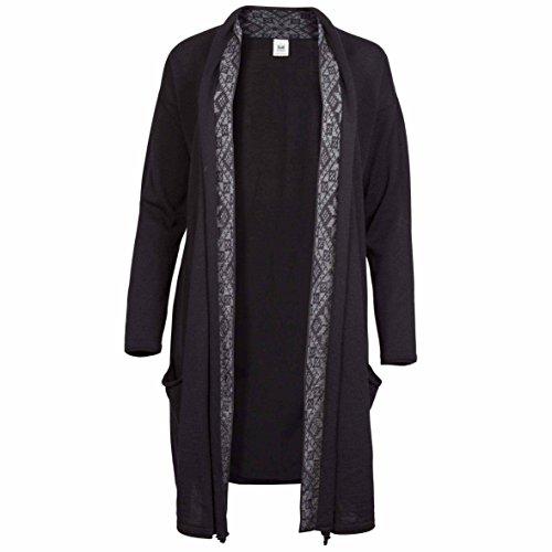 Dale of Norway Nora Feminine Sweater F-Black/Smoke LG (Women's 12-14)
