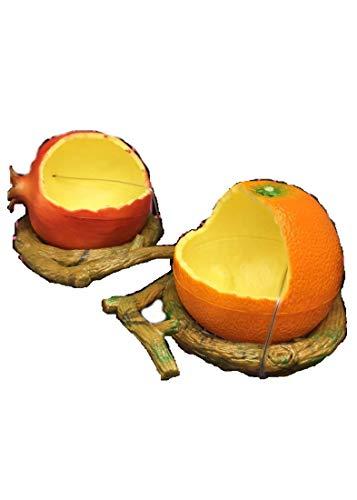 ANAN ペット用品 フードボウル ペット食器 餌やり 餌入れ 水入れ 果実形状 オウム 鳥