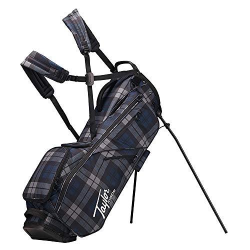TaylorMade 2019 Flextech Lifestyle Stand Golf Bag, Blue Plaid