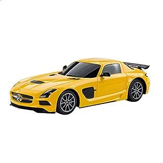 لعبة سيارة مرسيدس بريموت كنترول من راستار - اصفر