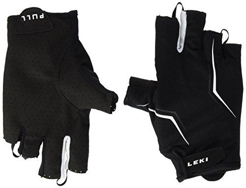 LEKI Unisex Hs Multi Lite Short Handschuhe, Black/White, 9/L