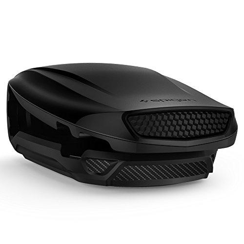 Spigen KUEL [S40-2] (Turbulence), Dashboard Car Phone Holder, Aerodynamic Deisgn Dual-Angle Function One Touch Easy Application Black