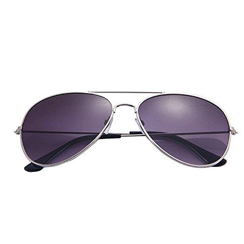 YEBIRAL Aviador Gafas de Sol,Hombre y Mujer Moda Polarizadas Clásico Retro Gafas Para Viajes Conducir Pesca UV400 Protección