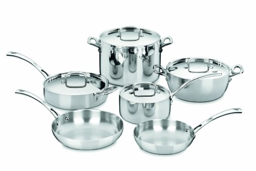 Cuisinart French Classic Tri-Ply Stainless 10-Piece Cookware Set