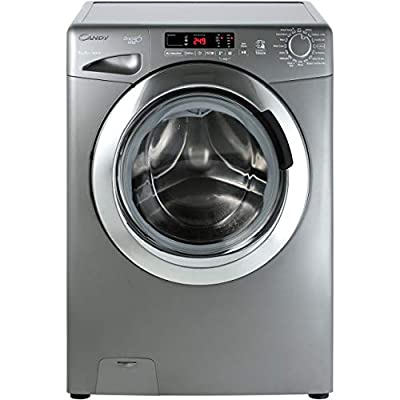 Candy GVS168DC3R A+++ Rated Freestanding Washing Machine - Graphite