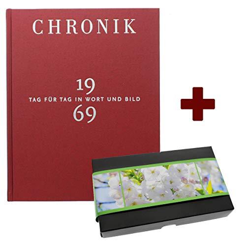 Schokochronik 1969: Buch-Chronik 1969 + XL Schokolade