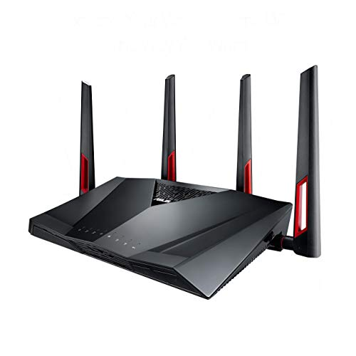 Asus RT-AC88U Gaming Router (Ai Mesh WLAN System, WiFi 5...
