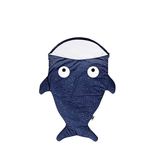 Baby Bites ORIGINAL - Saco azul para RECIÉN NACIDO, estampado CONSTELACIONES - Modelo INVIERNO