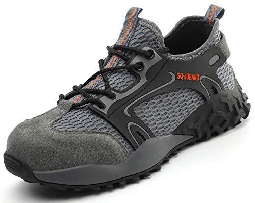[EVIICC] 安全靴 作業靴 地下足袋 メンズ セーフティーシューズ ワークシューズ レディース 鋼先芯 JIS H級 耐磨耗 衝撃吸収 スニーカー 耐滑 通気 軽量 2020新番